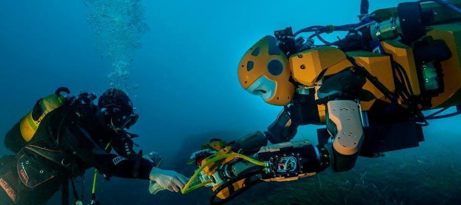 روبوت OceanOne