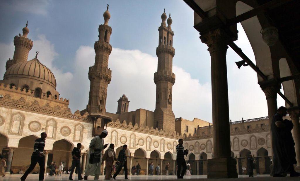 مسجد الازهر القاهرة