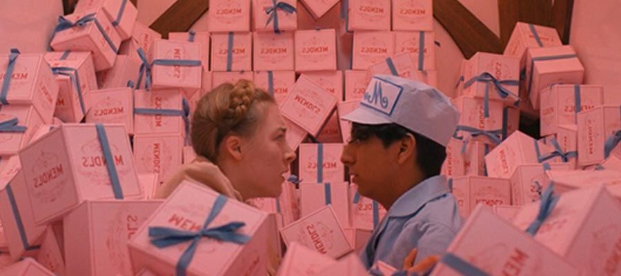من فيلم The Grand Budapest Hotel