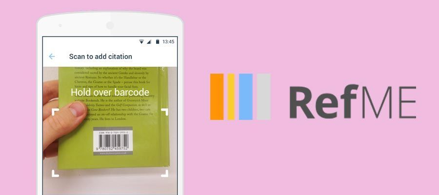 RefME – Referencing Made Easy