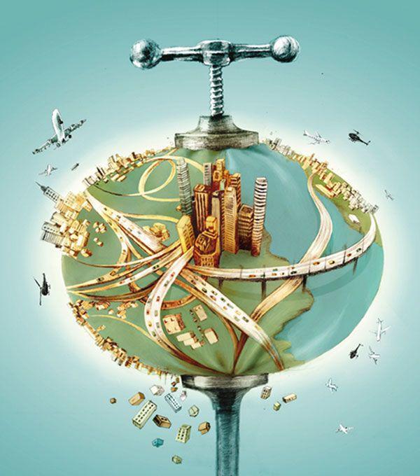 العولمة - صورة من تصميم Maya Shleifer من فليكر