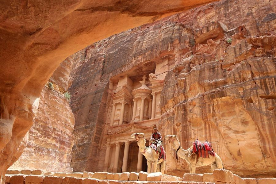البتراء في الأردن