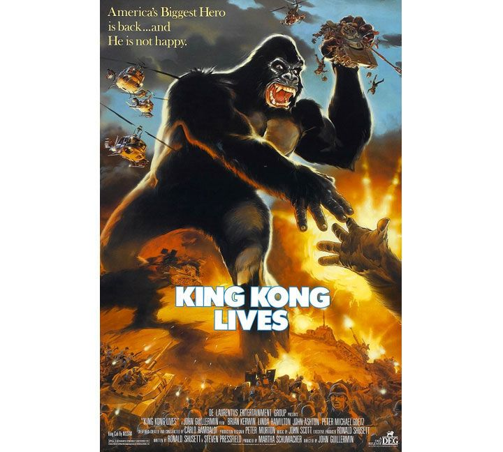 فيلم King Kong Lives سنة 1986