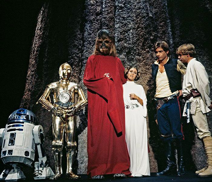فيلم The Star Wars Holiday Special سنة 1978