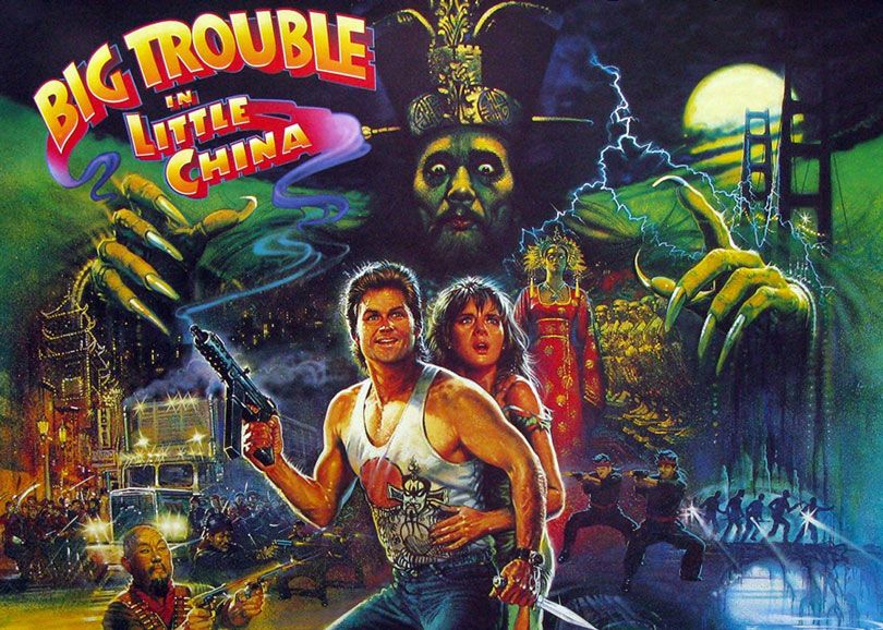 "فيلم ""Big Trouble in Little China"" سنة (1986)"