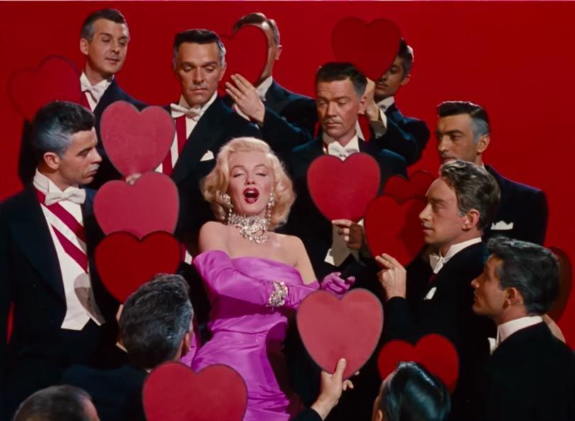 "فيلم ""Gentlemen Prefer Blondes"" سنة (1953)"