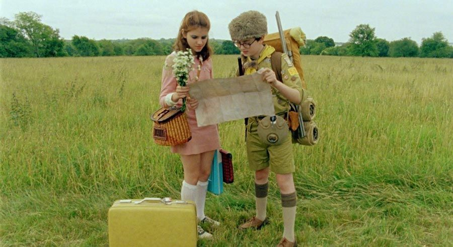 "فيلم ""Moonrise Kingdom"" سنة (2012)"