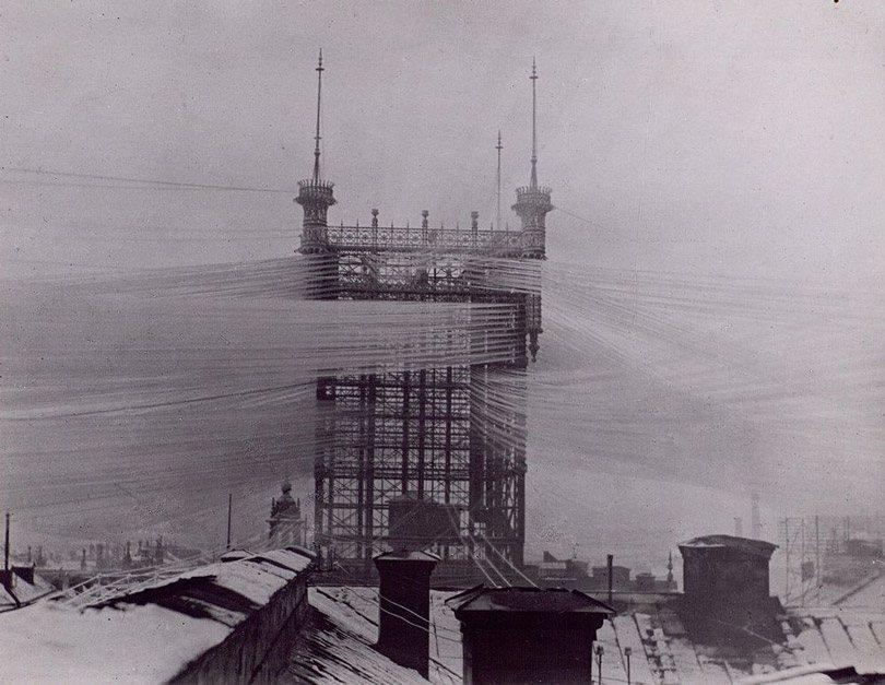 """برج إتصالات """"ستوكهولم"""" القديم"""
