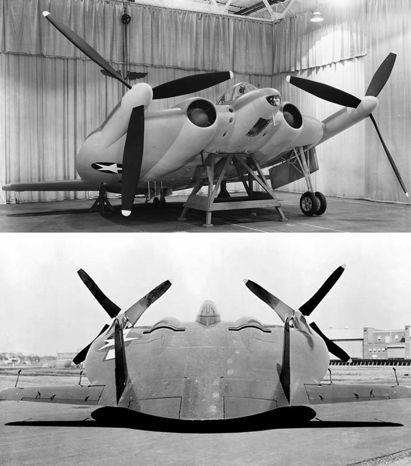 "Vought V-173/XF5U-1 ""Flying Pancake"""
