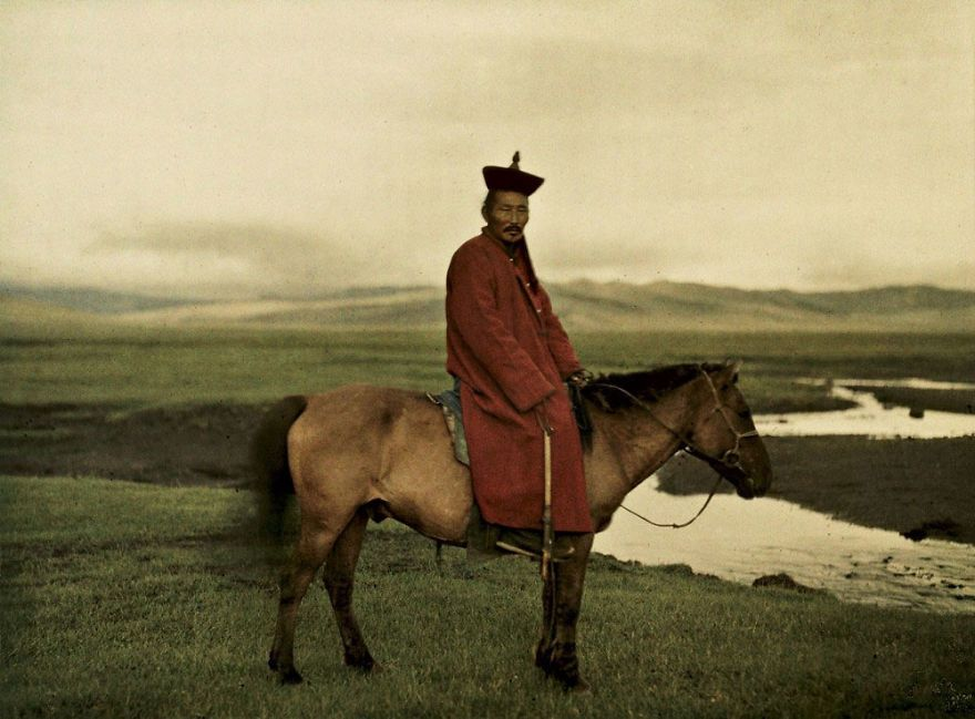 """منغوليا، بالقرب من """"أولانباتار""""، سنة 1913"""