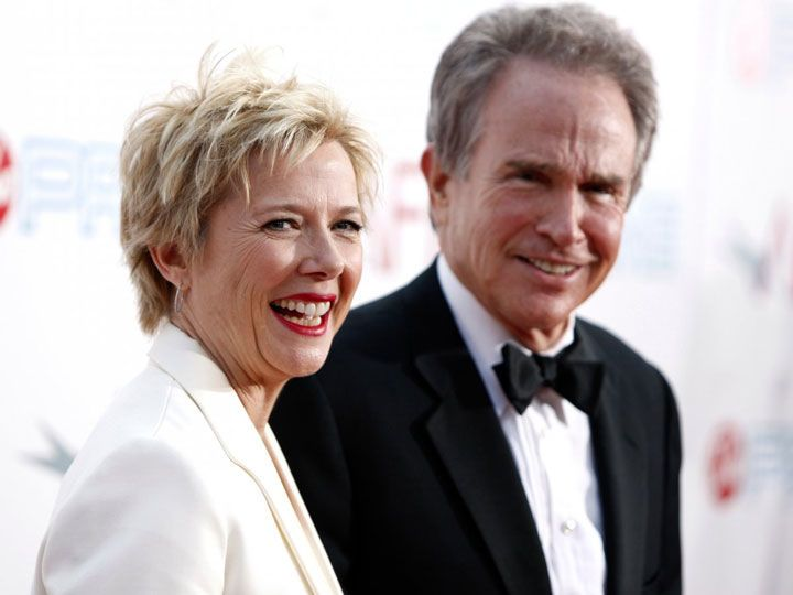 الثنائي Warren Beatty وAnnette Bening