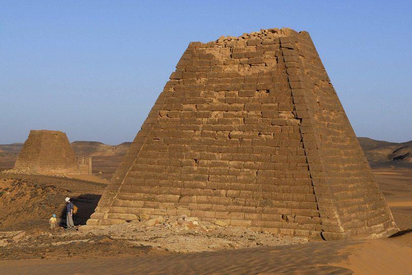 أهرامات النوبة في السودان