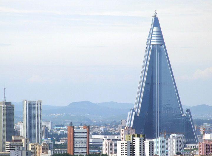أطول فندق في العالم - بيونغ يانغ - كوريا الشمالية