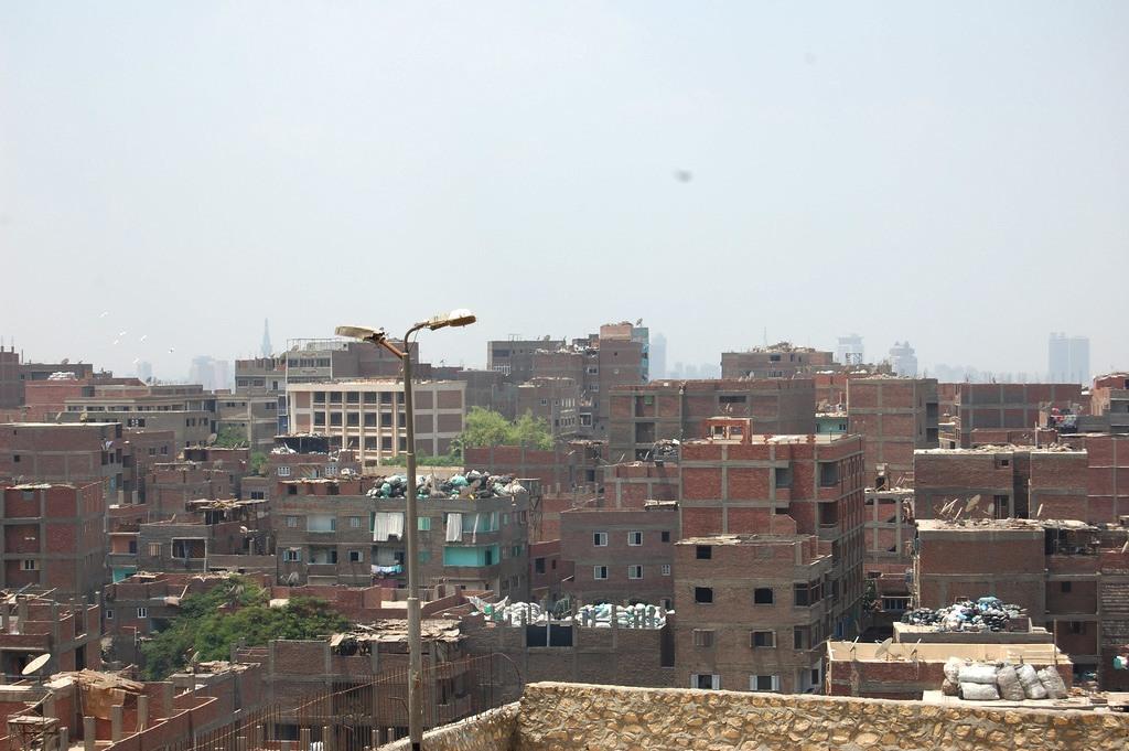 مدينة الزبالين في مصر