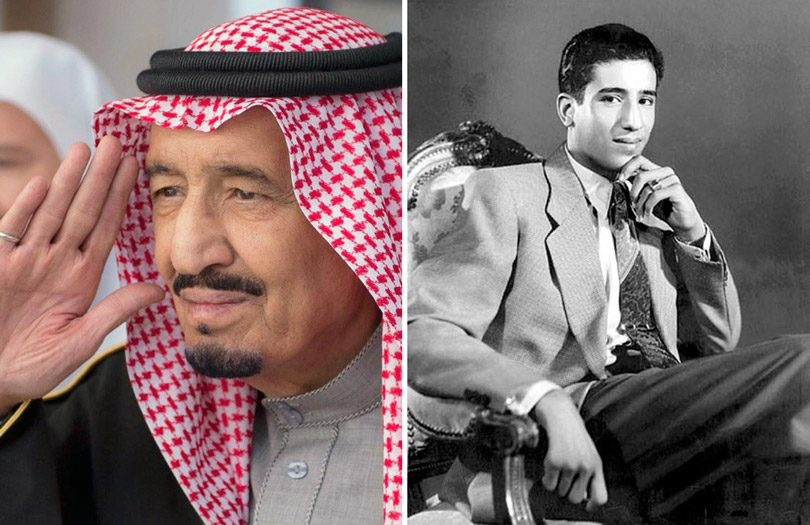 الملك السعودي (سلمان) في سن التاسعة عشر