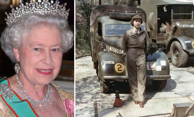 أميرة إنجلترا (إليزابيث) ذات الثمانية عشر ربيعا