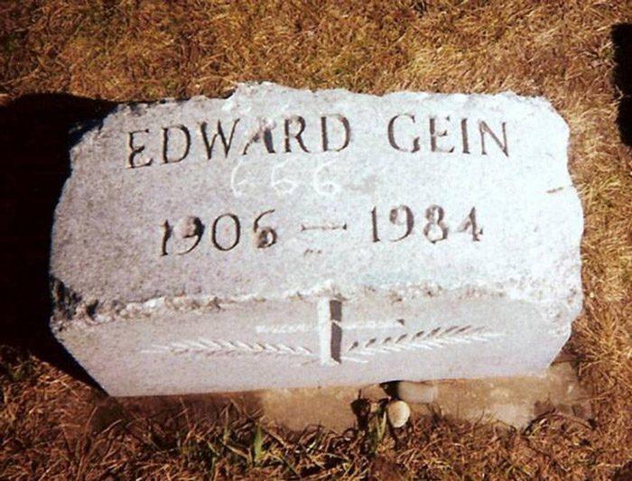 شاهد قبر (إيد غين)