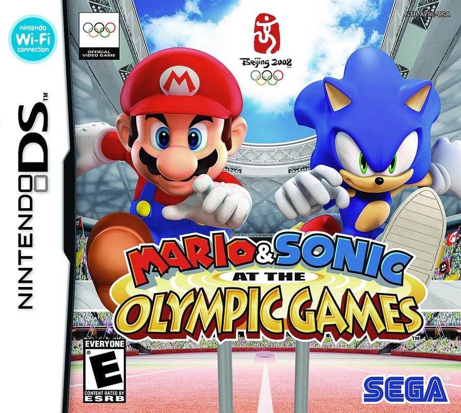 لعبة Sonic and Mario at The Olympics