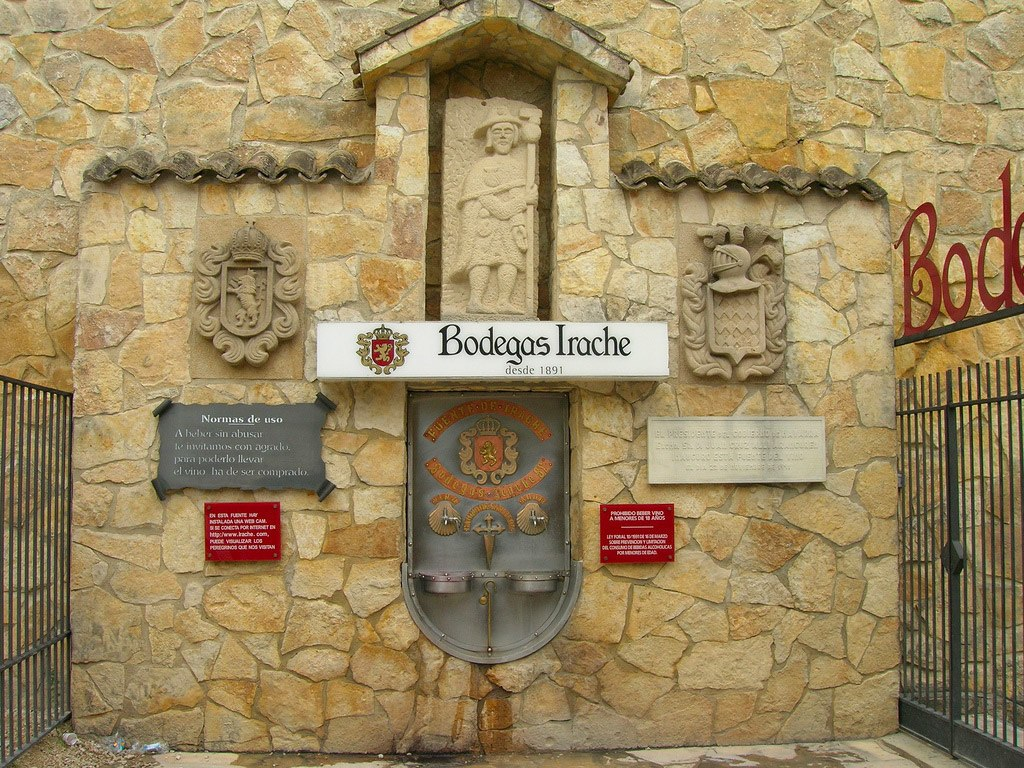 Learn about the fountain of free wine for Christian pilgrims and why it is built
