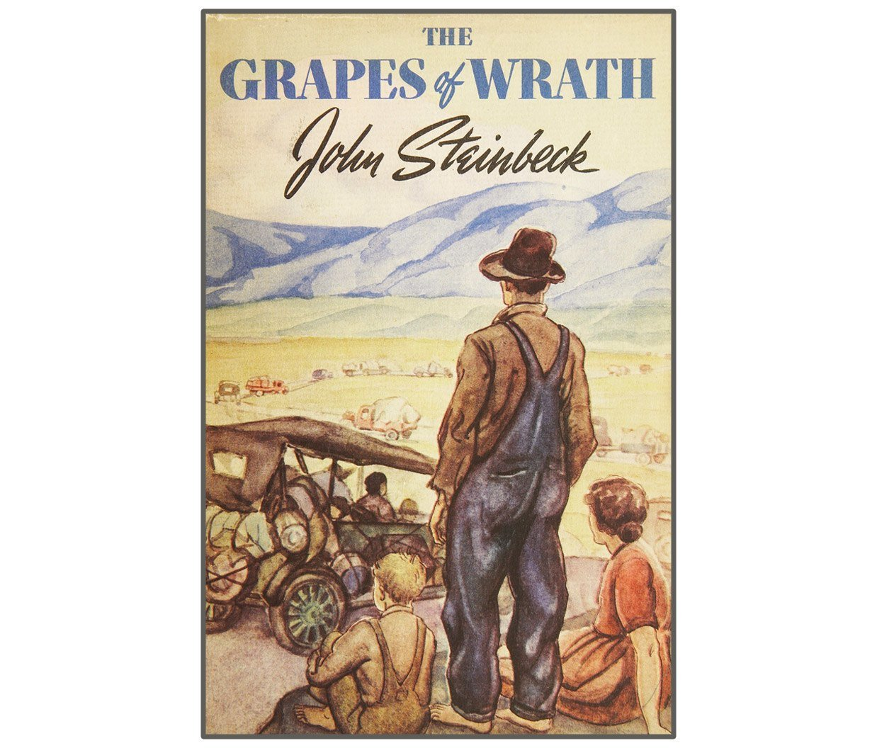 رواية The Grapes of Wrath للكاتب John Steinbeck