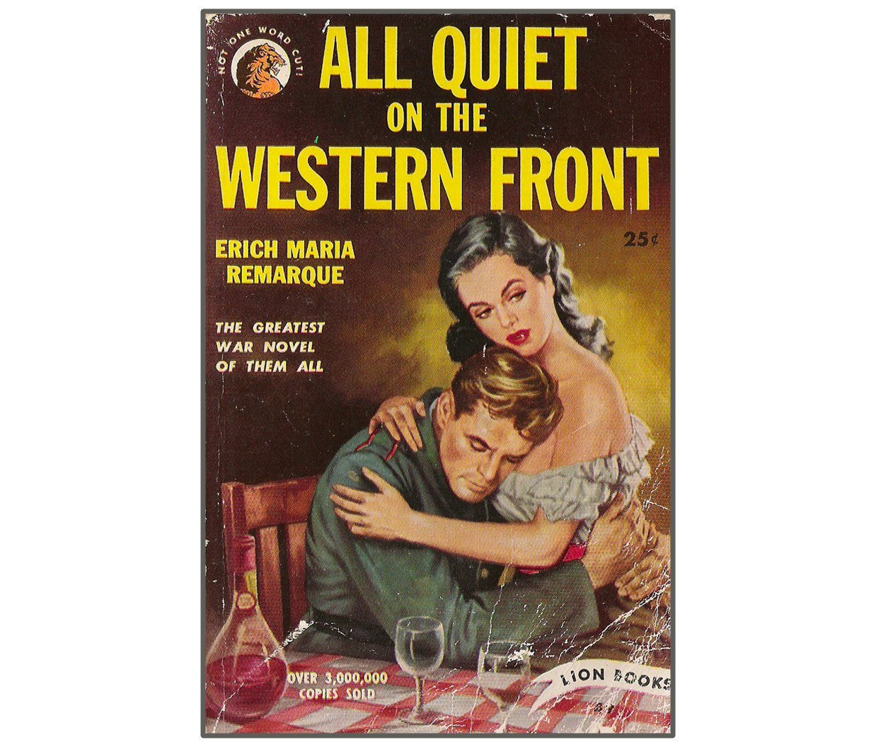 رواية All Quiet on the Western Front للكاتب Erich Maria Remarque