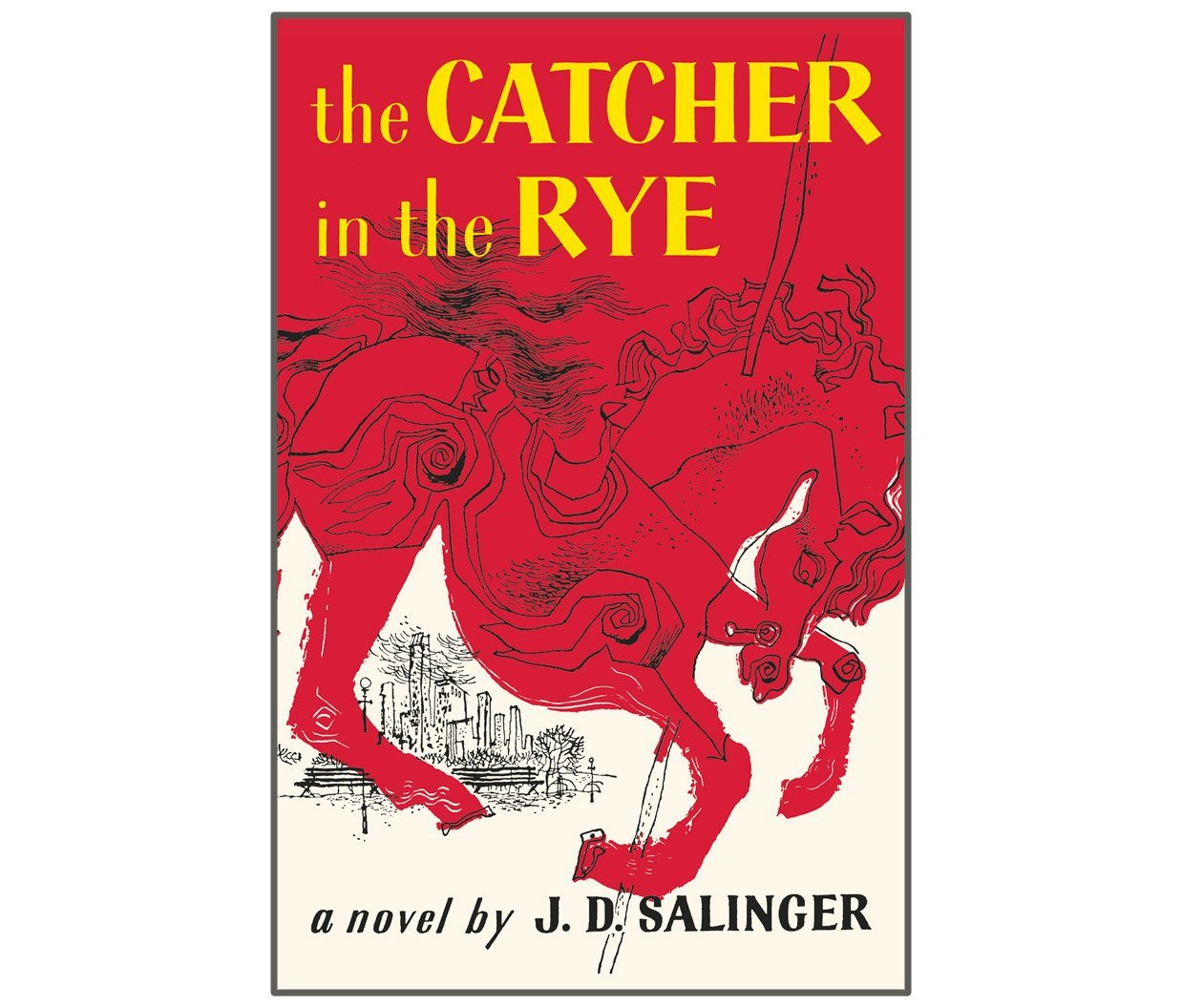 رواية The Catcher in the Rye للكاتب J.D. Salinger