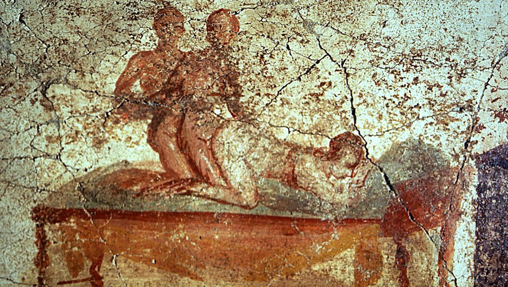 """""""Sexual relations in the old (Pompeii) is our guide to accept homosexuality of all kinds"""""""