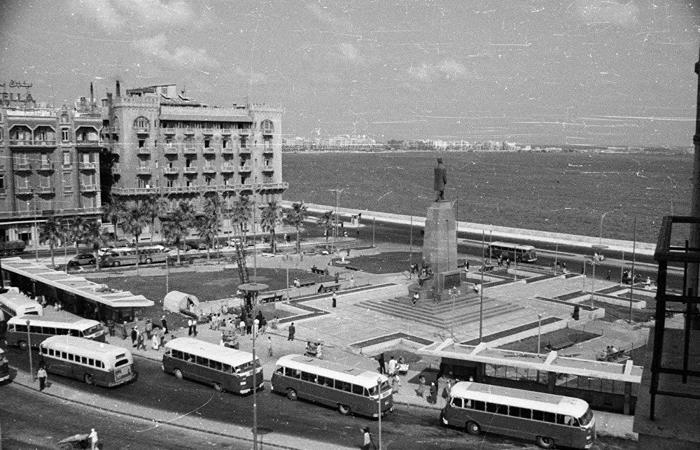 الإسكندرية، مصر في خمسينات القرن الماضي