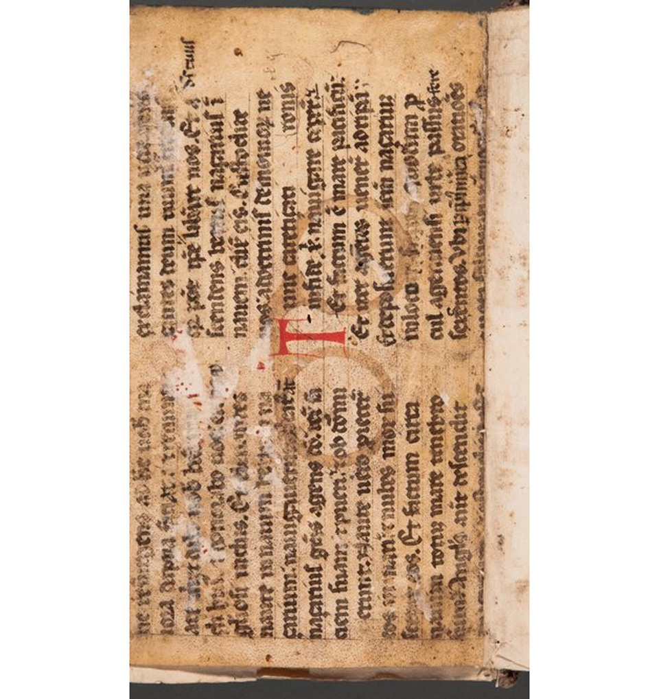 كتاب قديم من العصور الوسطى