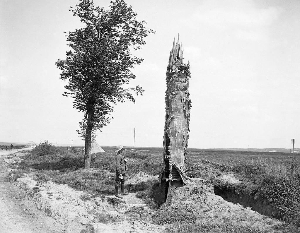 أبراج المراقبة في الحرب العالمية الأولى