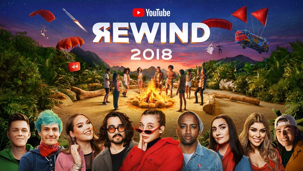فيديو YouTube Rewind 2018: Everybody Controls the Rewind