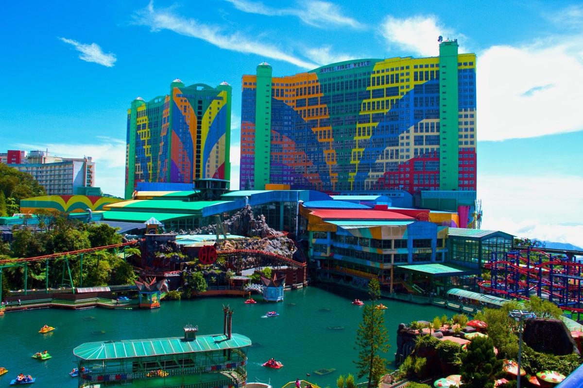 فندق ومنتجع العالم الأول في ماليزيا. صورة: Azad Azahar Adnan/Getty Images
