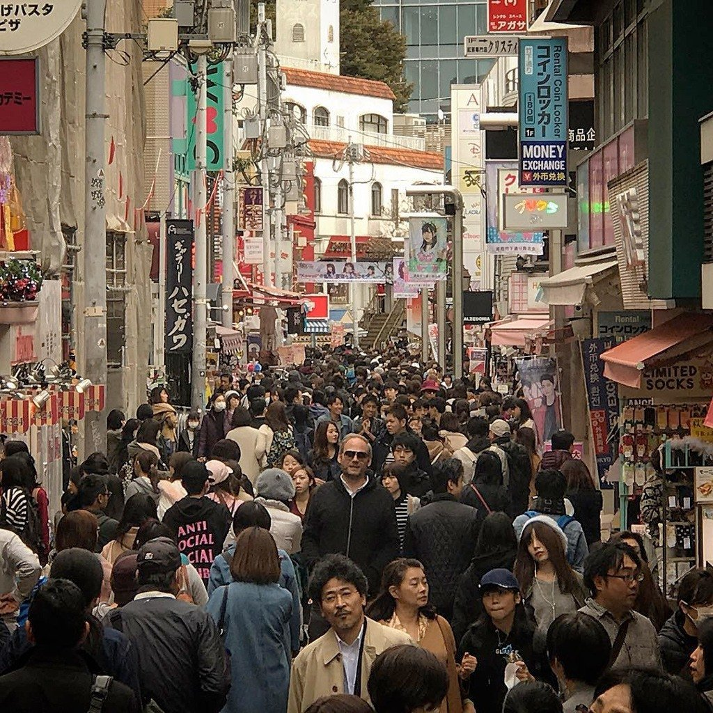 طويل القامة في اليابان