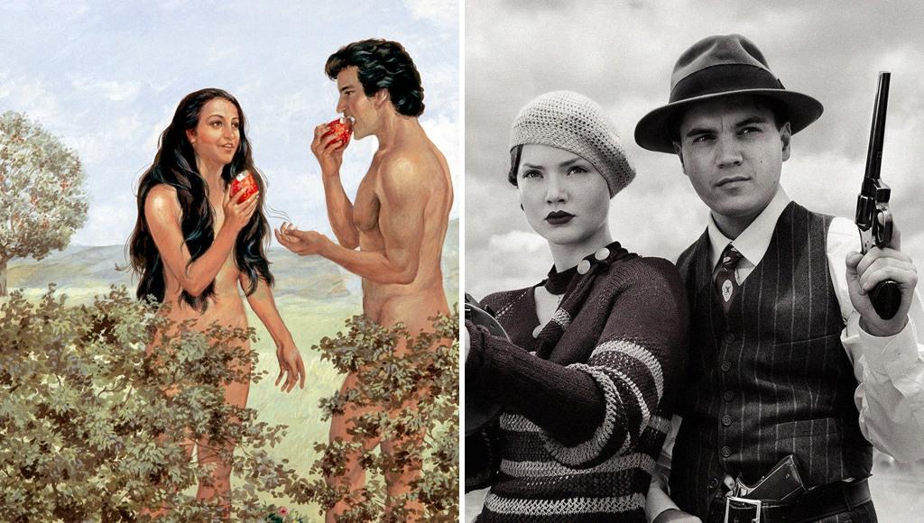 بوني وكلايد وآدم وحواء