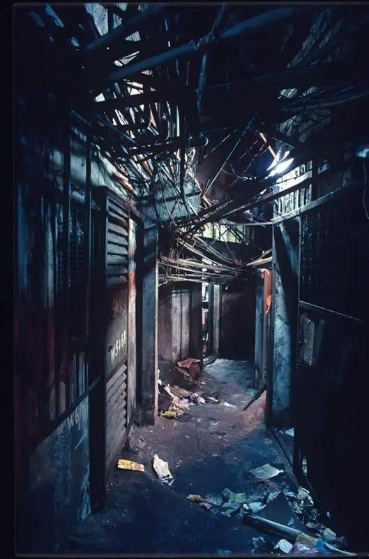 مدينة كولون المسورة في هونغ كونغ