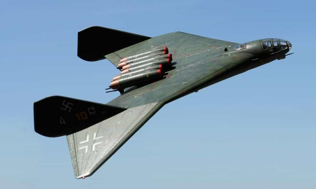 نسخة طبق الأصل عن نموذج Arado E.555.