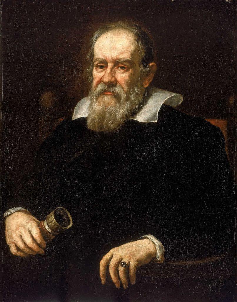 لوحة لجاليليو من رسم الفنان جوستوس سوسترمانس عام 1636.