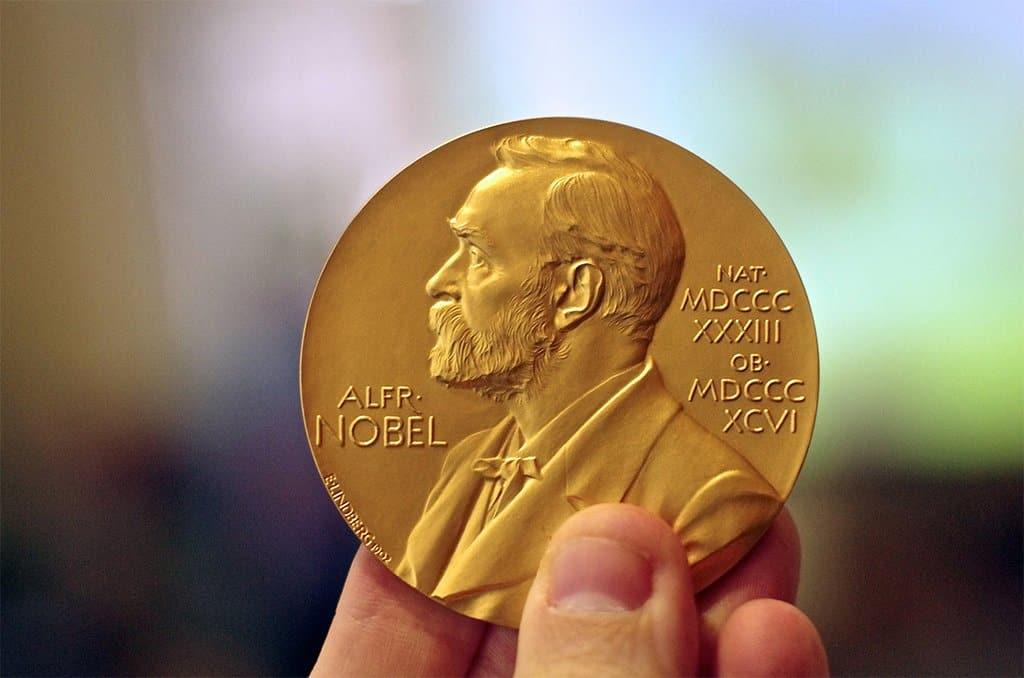 ميدالية جائزة نوبل.