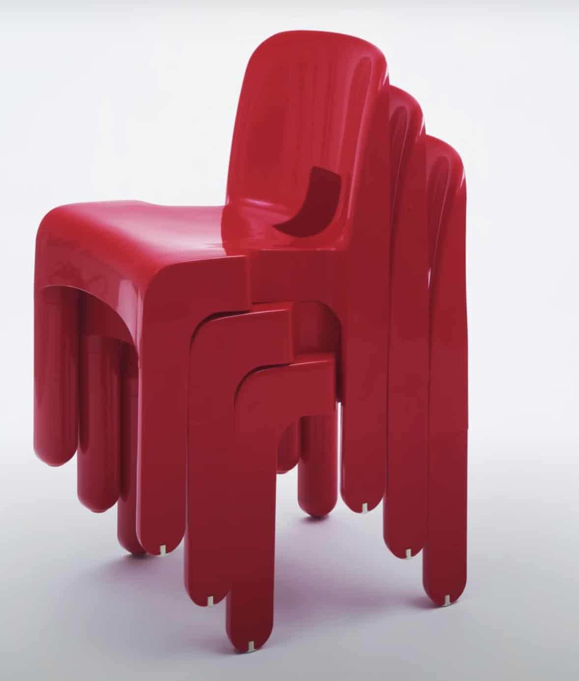 كرسي (يونيفرسال) من تصميم (جوي كولومبو).