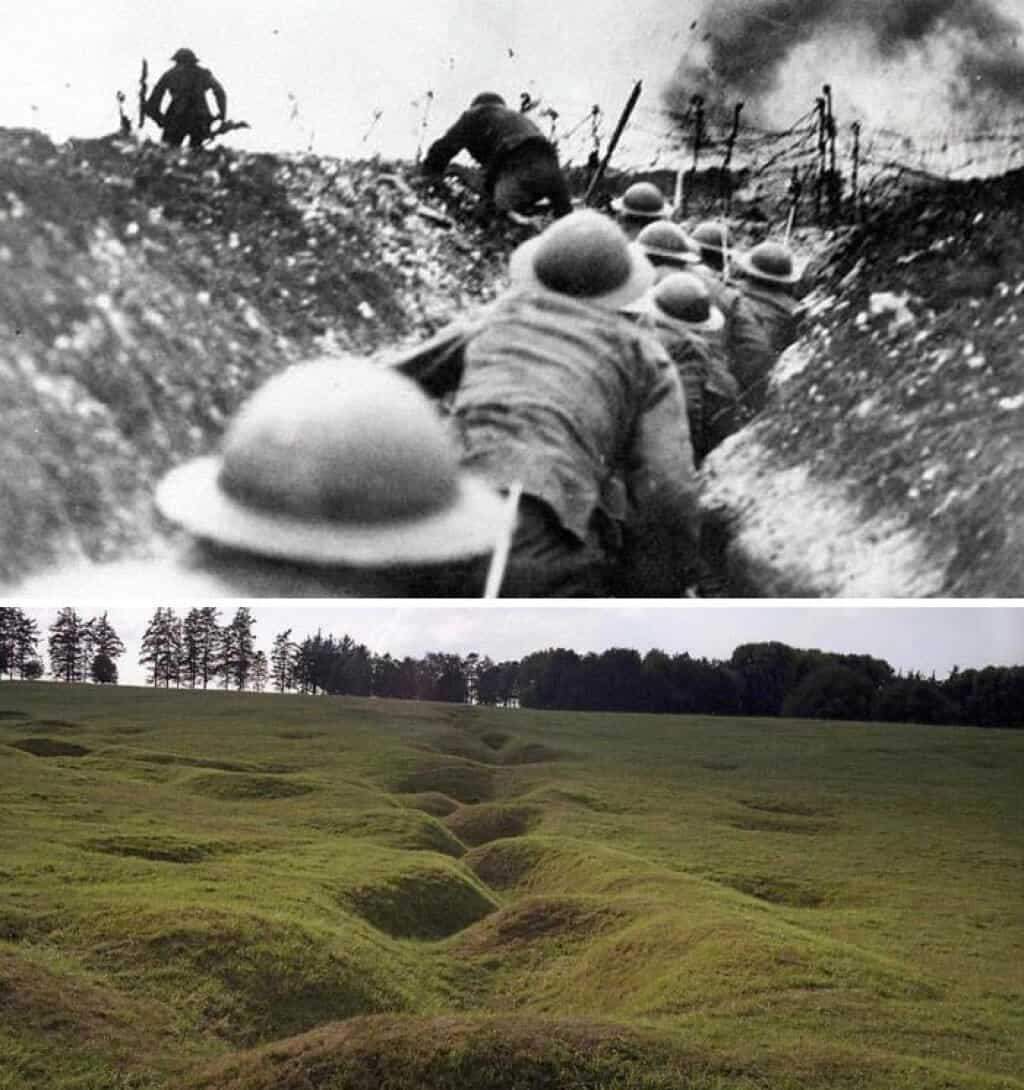 8. خنادق الحرب العالمية الأولى